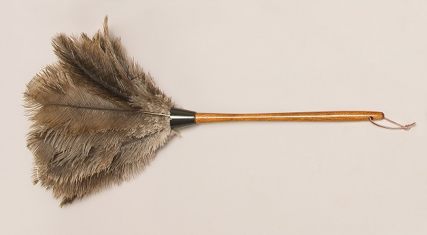 Ostrich Feather Dusters - Premium Grey O-715-G