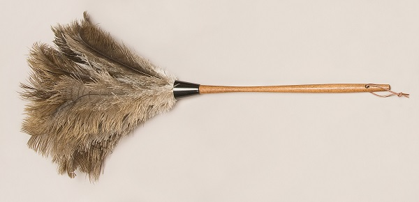 Ostrich Feather Dusters - Premium Grey O-728-G