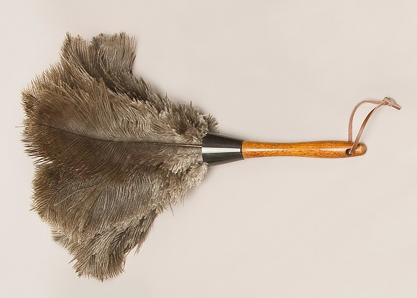 Ostrich Feather Dusters - Premium Grey O-613-G
